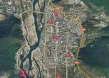 西藏林芝八一镇672平米土地出售