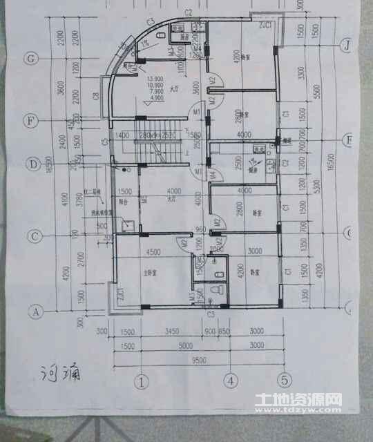 村屋设计图60平方