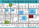 安徽蚌埠104亩商住地转让转让费:1.560亿元