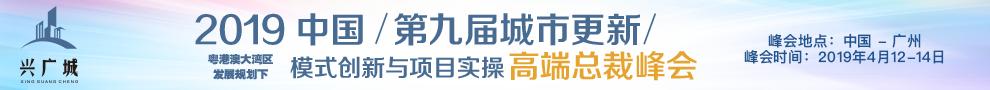 2019中国第九届城市更新模式创新与项目实操高端总裁峰会
